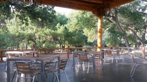 Patio Dining at Cafe Abiquiu